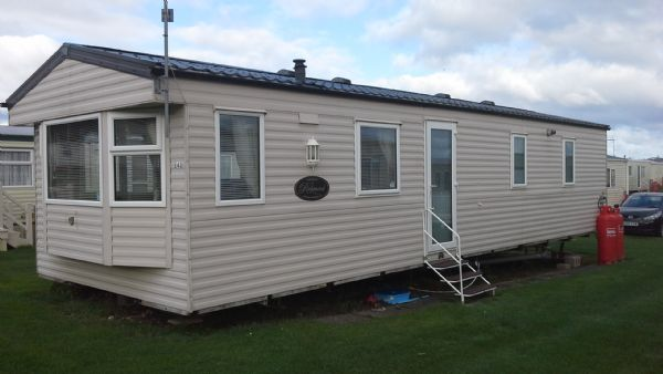 Private static caravan rental image from Eyemouth Holiday Park, Eyemouth, Berwickshire