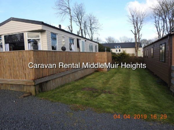 Private static caravan rental image from Middlemuir Park, Ayr, Ayrshire